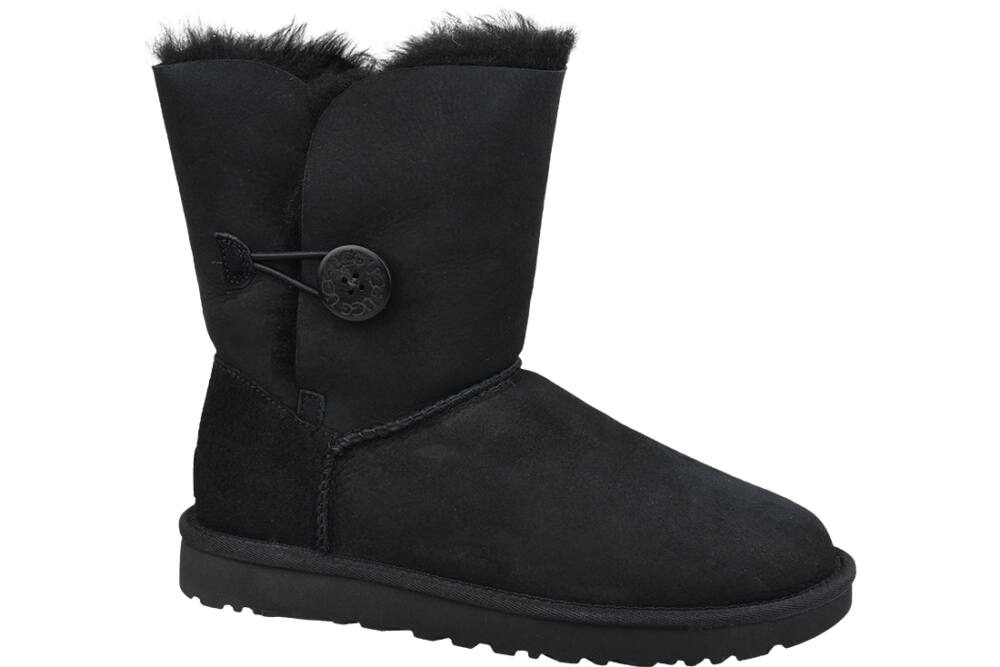 UGG Bailey Button II 1016226-BLK bakancs