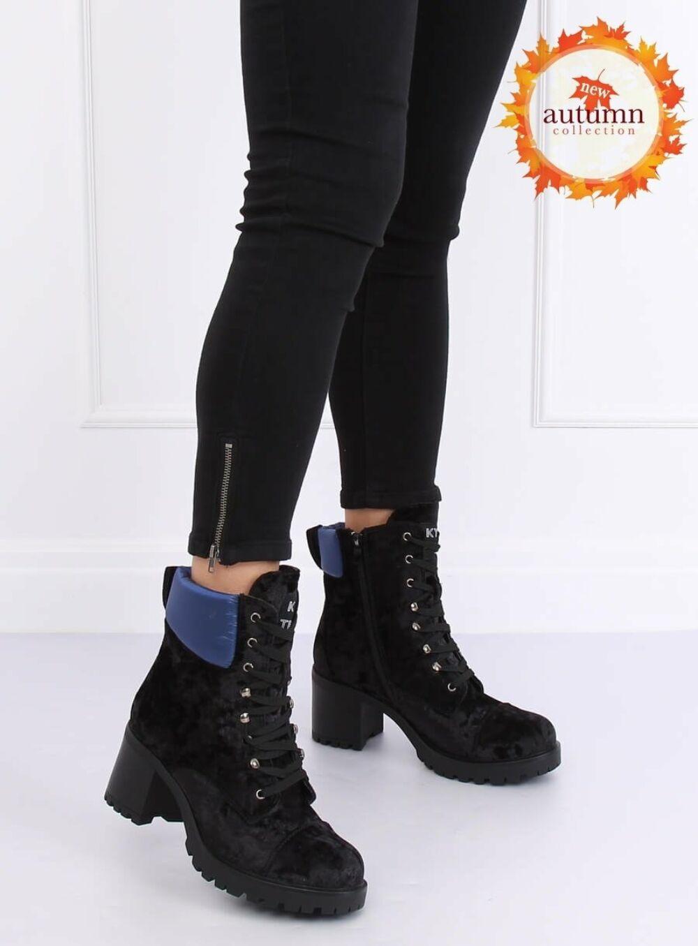 Női bokacsizma (K1835203), fekete