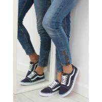 Női szövet utcai sportos cipő (DC3), kék