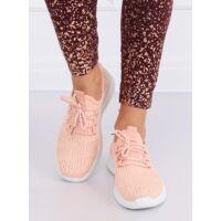 Női hasított műbőr félcipő (G-330), rózsaszín