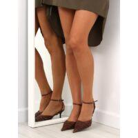 Női utcai papucs (5129-53), barna, klasszikus