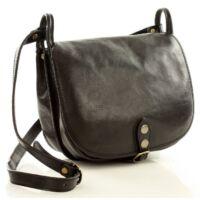 Női klasszikus táska (L86d), fekete