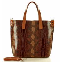Női klasszikus táska (320f), barna