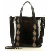 Női klasszikus táska (320e), fekete