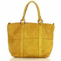 MAZZINI Női bevásárlótáska (s196b), sárga