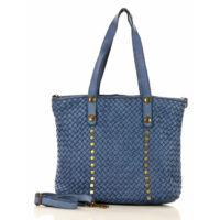 MAZZINI Női bevásárlótáska (s209b), kék