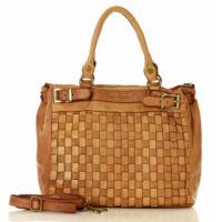 MAZZINI Női bevásárlótáska (v8a), barna
