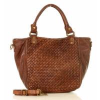 MAZZINI Női bevásárlótáska (v9a), barna
