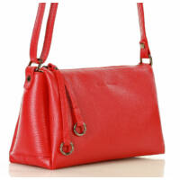 MAZZINI Női klasszikus táska (L157e), piros/bordó