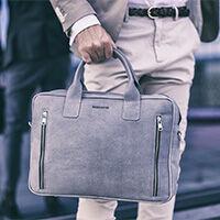 Brødrene férfi táskák természetes bőrből készülnek 1926cfa704