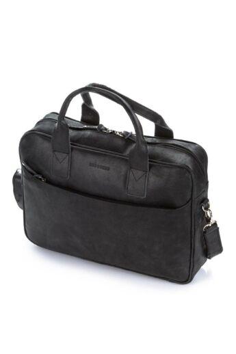 Brodrene férfi laptop táska bőrből