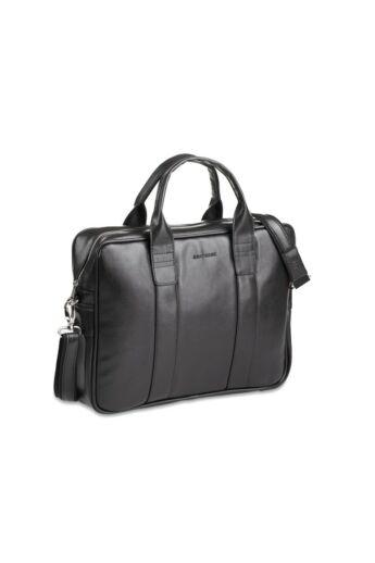 Brodrene elegáns férfi laptop táska fekete