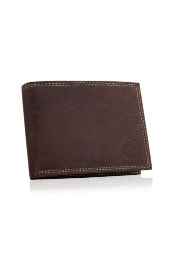 Betlewski elegáns férfi pénztárca sötétbarna