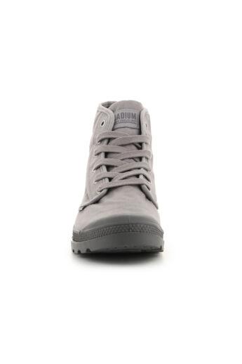 Palladium Pampa High Hi 02352-071-M Gray Flannel sneakers