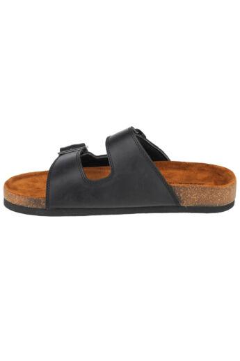 Skechers Krevon-Wanson 204094-BLK papucs, strandpapucs