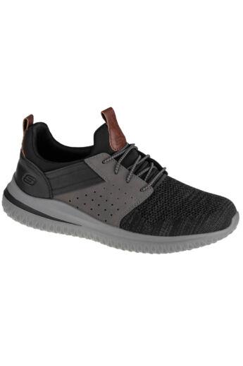 Skechers Delson 3.0-Cicada 210238-BKGY sportcipő