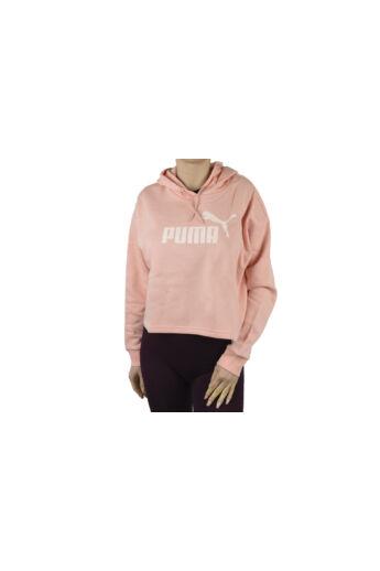 Puma Essential Cropped Logo Hoodie 586869-26 pulóver
