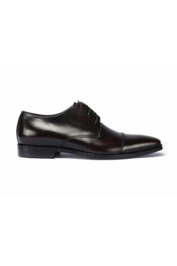 DOMENO valódi bőr alkalmi férfi cipő, bordó, DOM276