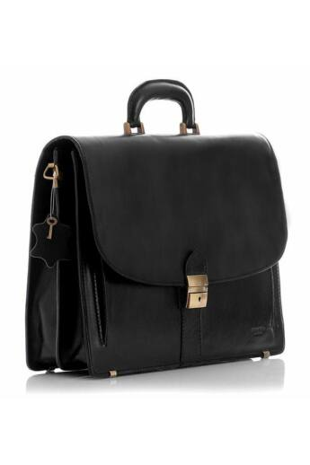 Mazzini Férfi üzleti táska (HLF-VER-1587), fekete