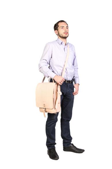 Vooc  hátitáska / táska bőrből Vintage P15