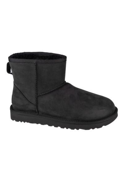 UGG W Classic Mini Leather 1016558-BLK bakancs
