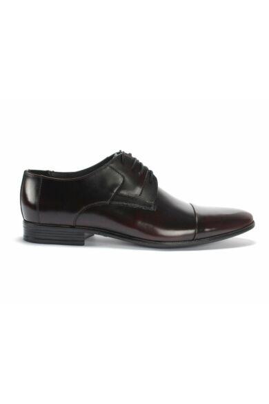 DOMENO alkalmi férfi cipő, bordó, DOM1092