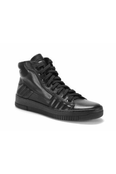 DOMENO valódi bőr sneakers, fekete, DOM1171