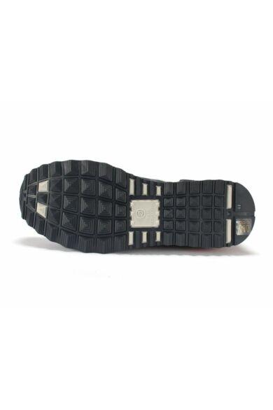 DOMENO valódi bőr sneakers, kék, DOM1279