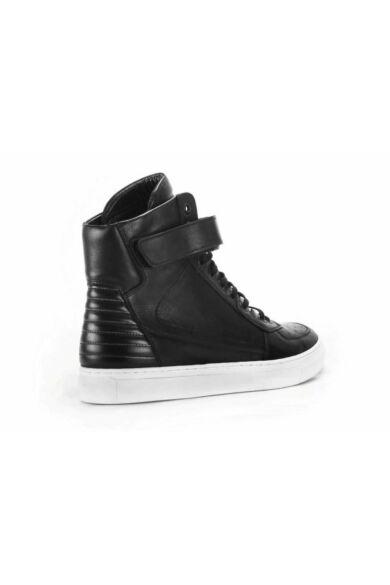 DOMENO valódi bőr sneakers, fekete, DOM321