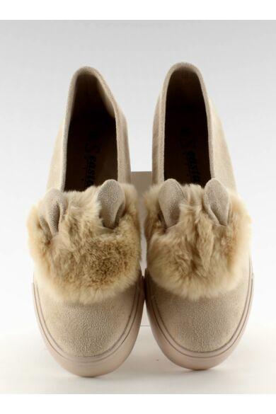 Női utcai sportos cipő (nb50), bézs