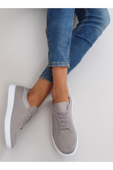 Női utcai sportos cipő (lz-9826), szürke