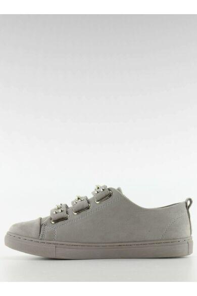 Női utcai sportos cipő (l1078), szürke
