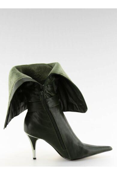 Női klasszikus csizma (5137-75), zöld