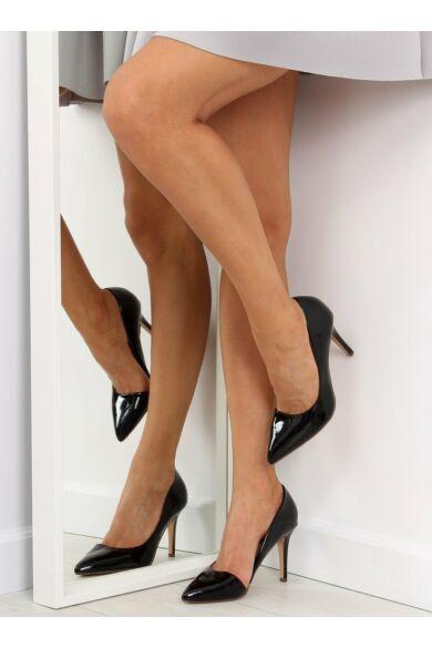 Női magassarkú (C26P), fekete