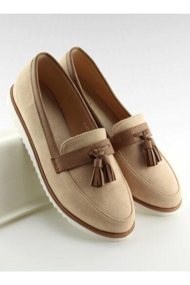 Női utcai sportos cipő (9167), bézs