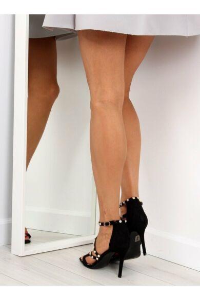 Női magassarkú (L6099), fekete