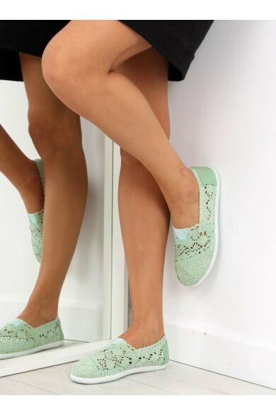 Női slip-on (AL2659), zöld, sportos