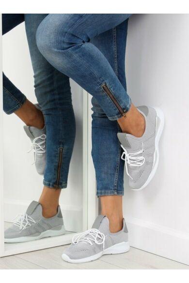 Női utcai sportos cipő (BK367), szürke