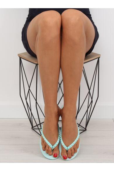 Női flip-flop papucs (DD26), világoskék