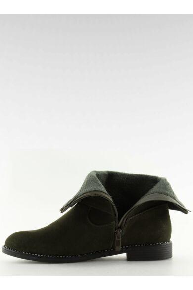 Női bokacsizma (MB188-266), zöld