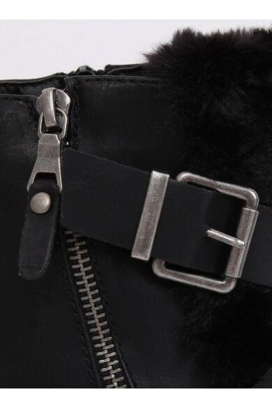 Női bokacsizma (1061A-PA), fekete