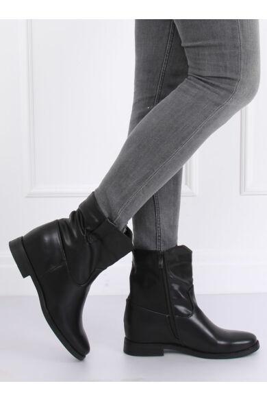 Női bokacsizma (G-7607), fekete