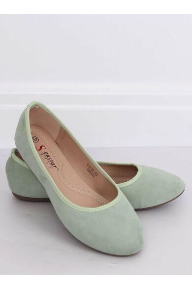 Női balerina (CD63P), zöld