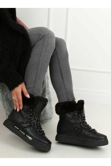 Női bakancs (BK903), fekete