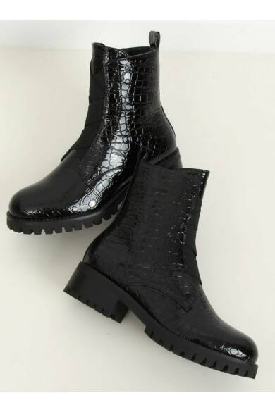 Női bokacsizma (0-368), fekete
