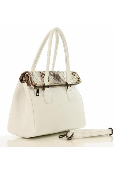 MAZZINI Női klasszikus táska (379b), fehér