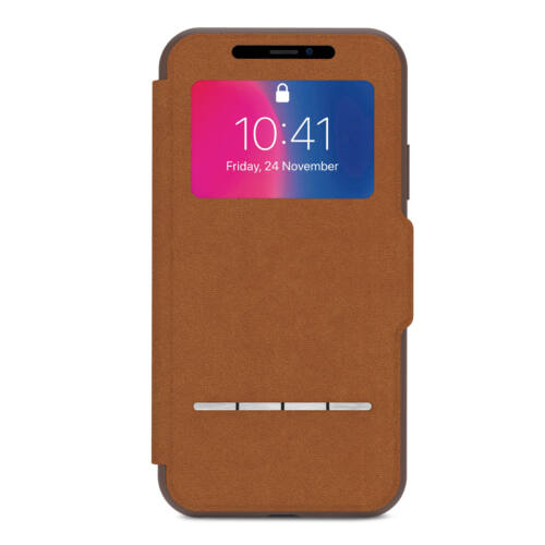 Moshi SenseCover for iPhone X/XS telefontok barna