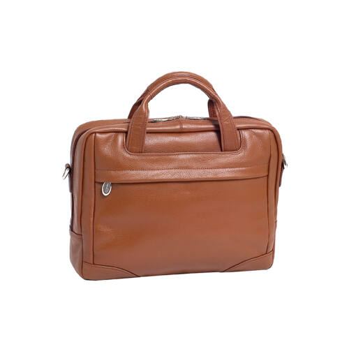 McKlein Bronzeville férfi bőr laptop táska barna - Laptoptáska a0f404e6a5