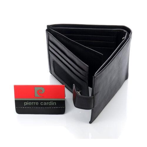 Pierre cardin elegáns férfi bőr pénztárca fekete Katt rá a felnagyításhoz 29fbbcb5d7