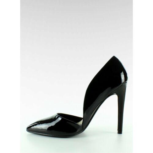 Női magassarkú (EE05), fekete